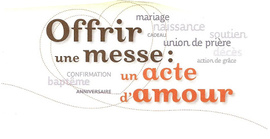 OFFRIR UNE INTENTION DE MESSE