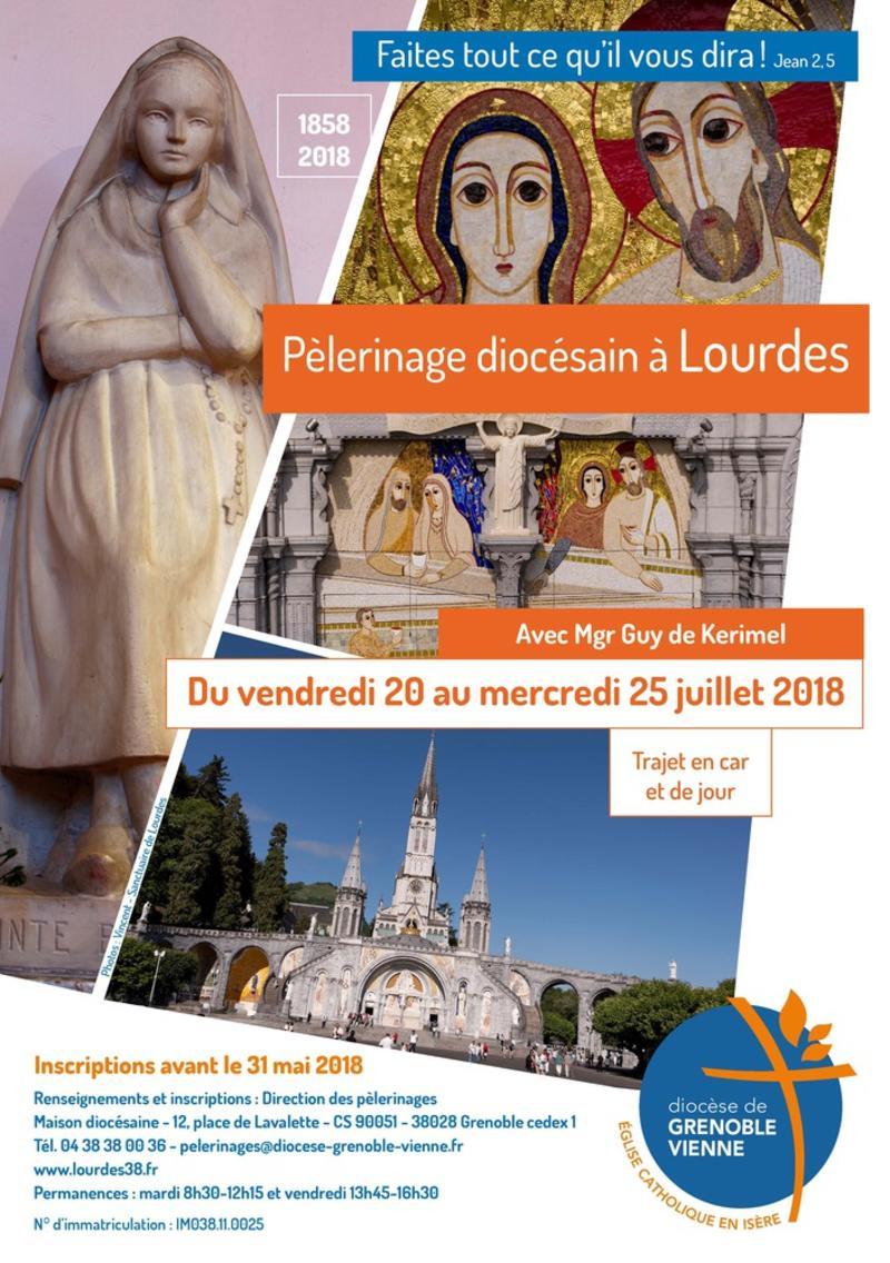 pèlerinage diocésain Lourdes